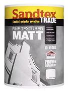 Sandtex Fine Texture Matt Brilliant White